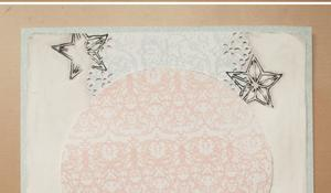 KROK VI – Dekorowanie kartki taśmą washi i kółkiem