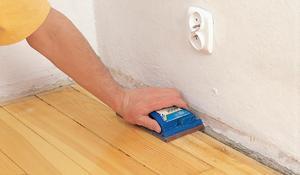 KROK II - Przygotowywanie podłogi i ściany